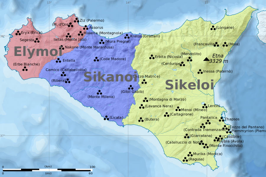 Elymians: the most Ancient Civilization from Western Sicily according to History