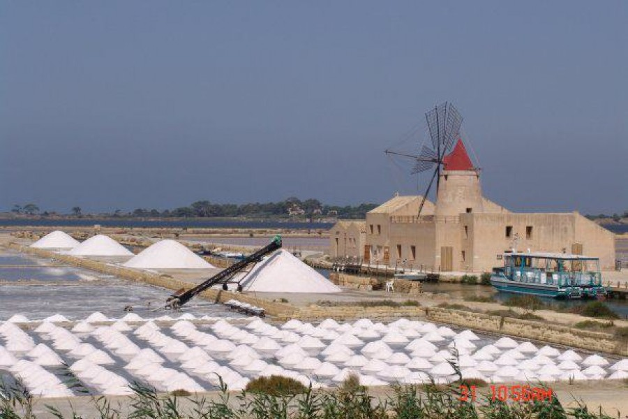 Salt Pan - Salinas: Natural Reserve of Stagnone's Islands